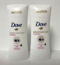 (2) Dove Advanced Care Invisible Clear Finish 48HR Antiperspirant-2.6oz