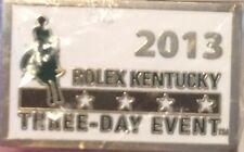 Rolex Kentucky Three Day Event 2013 Horse Racing Hat Lapel Pin (NEW)