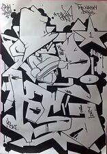 DIKSA, GRAFFITI NOT OBEY, BANKSY, TAK,I SEEN, FUTURA, IZ, NYC, BANKSY, STREETART