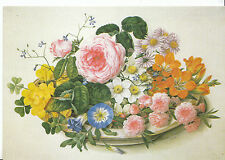 Flowers Postcard - Flowers In A Bowl    AB1719