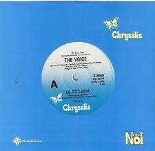 "ULTRAVOX - THE VOICE - 7"" 45 VINYL RECORD - 1981"
