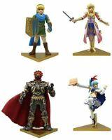 takaratomy-arts ZELDA Muso Gashapon 4set mascot capsule Figures Complete set