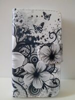 New Floral Butterfly Design Book Leather Wallet Case Cover For Samsung A5 2017