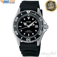 SEIKO ALBA Japan Solar Watch Men's Divers Watch AEFD530 offcial Genuine EMS F/S