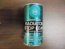 VINTAGE K&W Heavy Duty Radiator Stop Leak 11 fl oz