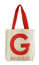 ** G BY GUESS Natural Canvas Shoulder Tote Bag Msrp $58.00