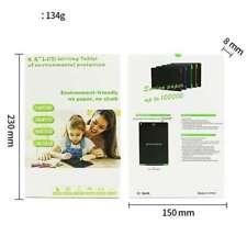 8.5 in (approx. 21.59 cm) LCD Escritura Tableta -- protección del medio ambiente