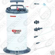 KS Tools vakuum-absaugpumpe 9, 5 Litre inclus 4 SONDES 160.0790 POMPE manuelle.
