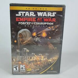 New Star Wars: Empire at War Forces of Corruption (PC, 2006) Sealed.