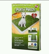 DOG TOILETTE CANI POTTY PATCH LETTIERA WC LAVABILE 3 STRATI BISOGNI ANIMALI
