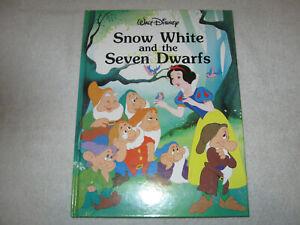 Walt Disney Snow White and the Seven Dwarfs 1986