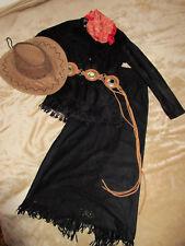 Hammer Lederlook Cowgirl~Kostüm Indianer Gr S Karneval~Fasching~Western~Country