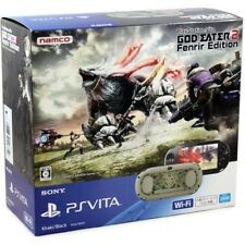 PlayStation PS Vita GOD EATER 2 Fenrir Edition PCHJ-10010 Japan Fast Shipping
