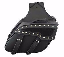 Motorcycle Motorbike Saddle Bag Luggage Leather Saddle Bags Riding Bike Panniers
