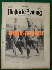 """BERLINER ILLUSTRIRTE ZEITUNG 1915 Nr. 21: Der Untergang des """"Bouvet"""""""