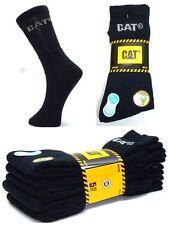 CAT Caterpillar Sportsocken, Arbeitssocken,5Paar,Schwarz 41-45, Socken