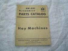 IH International baler hay machine parts catalog manual book