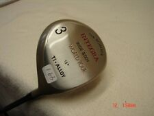 "*NEW Integra ""The Bomber"" World Tour Wide Body 15* #3 Fairway Wood RH   #491"