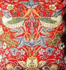 William Morris Strawberry Thief Crimson Pvc oilcloth tablecloth 178cm x 135cm