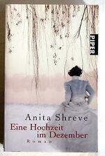 EINE HOCHZEIT IM DEZEMBER - Anita Shreve Roman