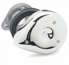 Pour Harley Dyna Sportster Keihin Bendix Shovelhead Evo Filtre À Air S + S Chrome