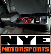 Husky Liners GearBox Interior Under Seat Storage Box 07-13 Chevy GMC Crew Cab