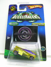 2006 Hot Wheels AcceleRacers New ACCELECHARGED ANTHRACITE w/BonusCD FREE SHIPPIN