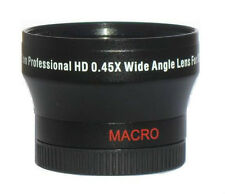ZE 37mm Pro Wide Angle Lens For JVC EVERIO GZ-HD620 GZ-HD500