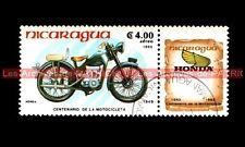 HONDA 100 Dream D 1949 - NICARAGUA Moto Timbre Stamp