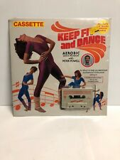 """Peter Powell """"Keep Fit and Dance"""" Cassette Tape K-Tel 1982 SHRINK with poster!"""