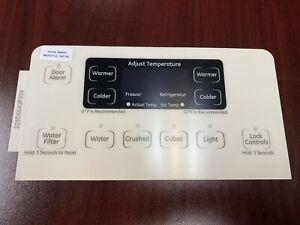 GE Refrigerator Dispenser Overlay only for WR55X20463, OEM, Brand New