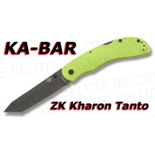 KA-BAR Zombie Knives Kharon Lockback Folder Ka5698 Tanto Aus 8a Blade Hunting
