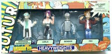 Futurama Heavyweights DieCast Metal Figures Series 1 Bender Fry Leela farnsworth