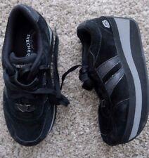 Retro Skechers Cuña De Plataforma Con Cordones Zapatos Zapatillas De Especias Deportivo UK3EU36US6