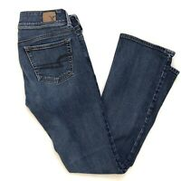 American Eagle Women's Jeans Kick Boot Size 0 Short Blue Medium Wash #710