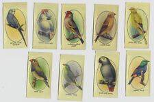 John Player & Sons Cigarette Cards - Aviary and Cage Birds Series Original 1920s