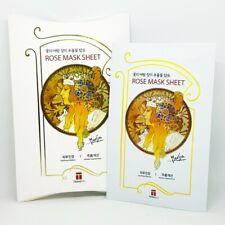 Teraeco Rose Mask Sheet 25g x 5pcs Soothing Anti-Wrinkle K-Beauty i3happy