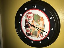 Spur Canada Dry Soda Fountain Diner Bar Man Cave AuthDealer Wall Clock Sign