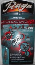@New@ Rage Hypodermic +P Slip Cam Expandable Broadheads! 100 grain #39800
