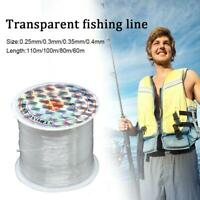 Clear Fishing Line 60-100M Spools - Hi-Tensile Monofil _HOT