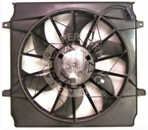 A/C Condenser Fan Assembly Performance Radiator fits 2006 Jeep Liberty 3.7L-V6