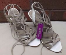 Marks and Spencer Patternless Stiletto 100% Leather Heels for Women