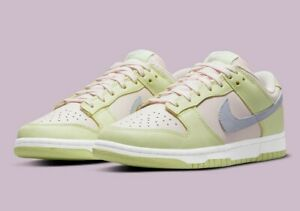 Nike Dunk Low (W) 'Lime Ice'   Ghost/Light Soft Pink/Lime Ice/White   UK5.5 US8W