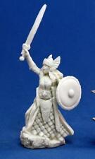 Aina, Female Valkyrie Bones Miniature by Reaper Miniatures RPR 77052