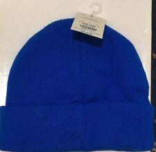 BNWT Topman Royal Blue Winter Hat Beanie One Size 6a9d640e74c1