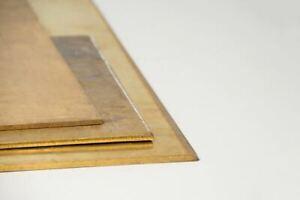 Messingplatte 3mm 2.0321 Blech CuZn37 Zuschnitt 100 mm bis 2000 mm wählbar