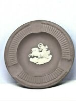 "Vintage! Rare Purple Wedgwood Chariot Decorative 4.5"" Plate/Jasper-Ware Ashtray"