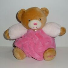 Doudou Ours Kaloo - Collection Plume Rose