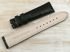 Girard-perregaux Official Service Leather Strap Crocodile Seeds Polished 20mm