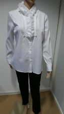 Women White The Clothing  Company Blouse  NWOT Size 12